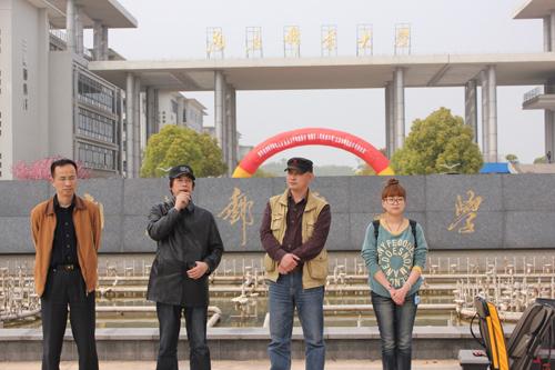 """庆南邮70年华诞""""校园风景写生活动"""