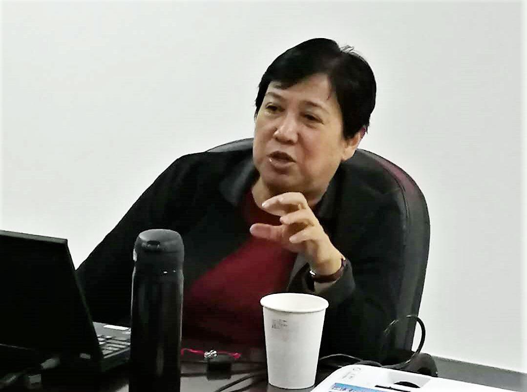 北京外国语大学金莉教授来校讲学